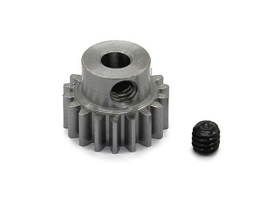 Robinson Racing Steel Pinion Gear 48 Pitch Metric (.6 module) 18T