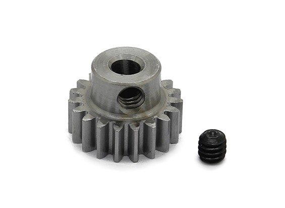 Robinson Racing Steel Pinion Gear 48 Pitch Metric (.6 Module) 19T