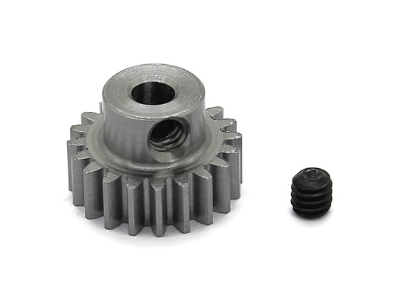 Robinson Racing Steel Pinion Gear 48 Pitch Metric (.6 Module) 20T