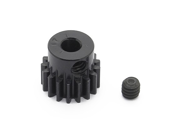 Robinson Racing Black Anodized Aluminum Pinion Gear 48 Pitch 17T