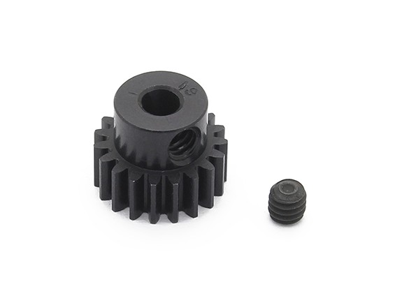 Robinson Racing Black Anodized Aluminum Pinion Gear 48 Pitch 19T