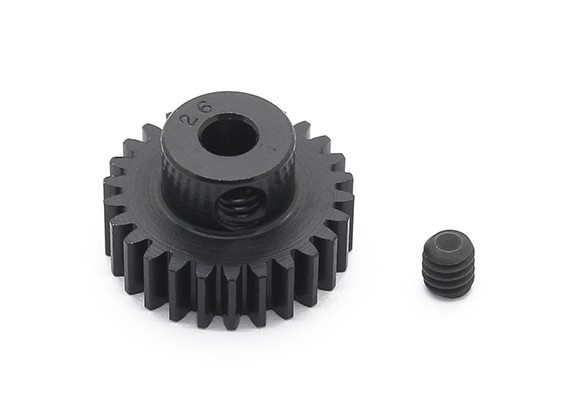Robinson Racing Black Anodized Aluminum Pinion Gear 48 Pitch 26T