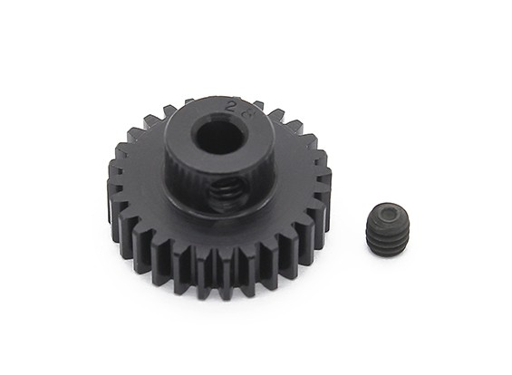 Robinson Racing Black Anodized Aluminum Pinion Gear 48 Pitch 28T