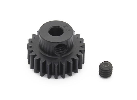 Robinson Racing Black Anodized Aluminum Pinion Gear 48 Pitch 23T