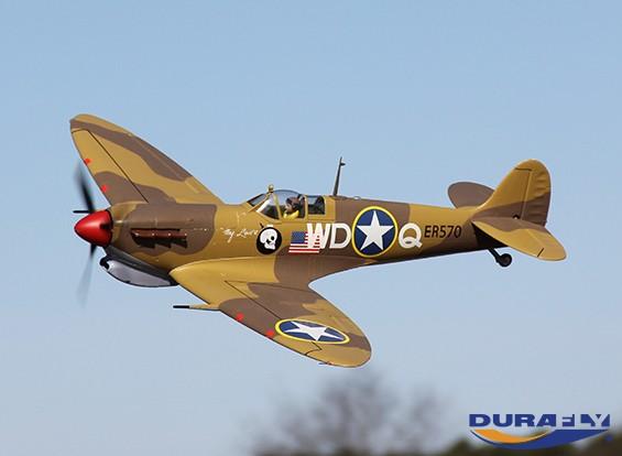 Durafly™ Spitfire Mk5 1100mm (PnF) Desert Scheme