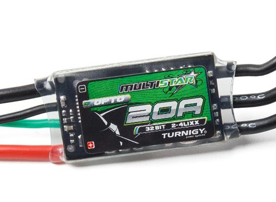 Turnigy MultiStar 32Bit 20A Race Spec ESC 2~4s (OPTO)