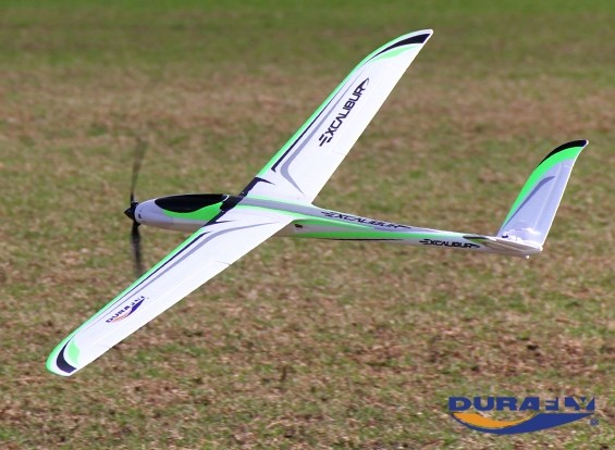 """Durafly™ Excalibur High Performance 1600mm (63"""") V-Tail Glider (PNF)"""