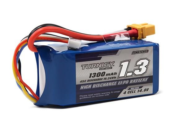 Turnigy 1300mAh 4S 45C Lipo Pack