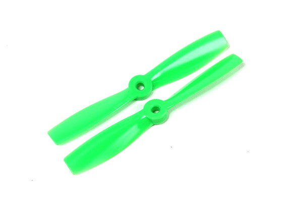 GemFan 5046 Bullnose Polycarbonate Propellers (CW/CCW) Green (1 pair)