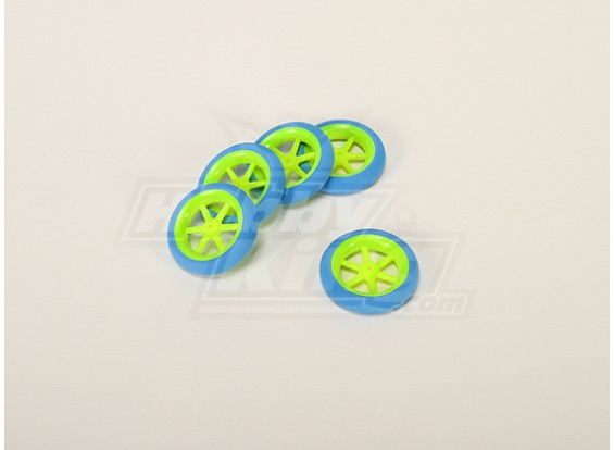 Super Light Multi Spoke Wheel D50x13mm (5pcs/bag)