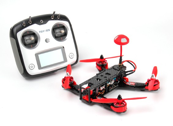 KingKong 210GT H Frame Racing Drone (RTF) (Mode1) (Red)