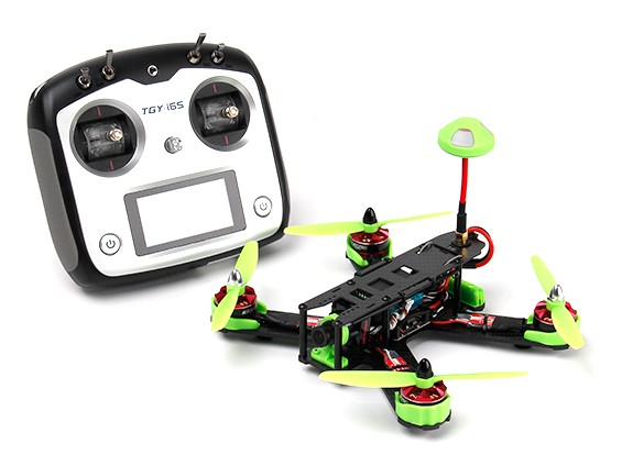 KingKong 210GT X Frame Racing Drone (RTF) (Mode1) (Green)