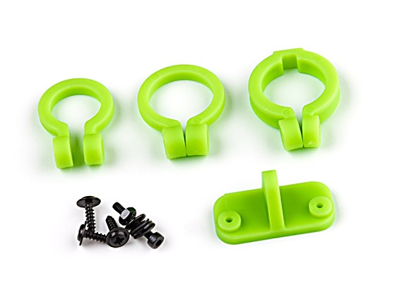 KingKong Universal Camera Lens Adjustable Holder Set (Green)