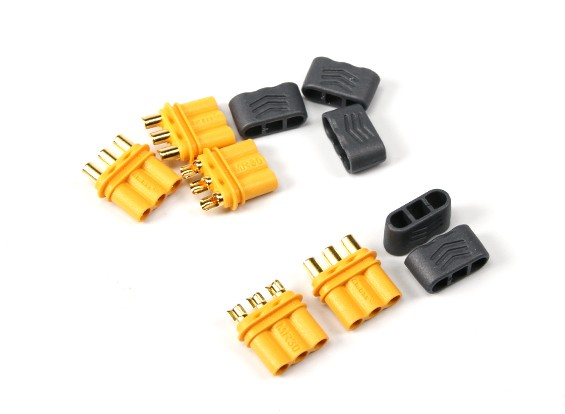 R30 - 2.0mm 3 Pin Motor to ESC Connector (30A) Female Only (5 sets/bag)