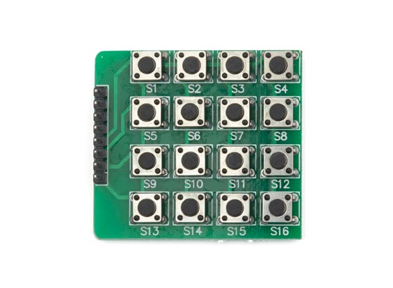 Kingduino 4x4 Keypad Button Module