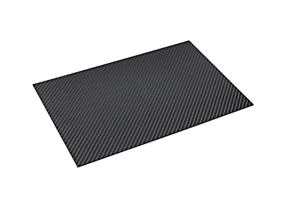 Carbon Fiber Sheet 300 x 200 x 1.5mm