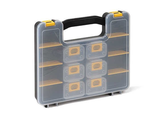 Plastic Multi-Purpose Organizer - 14 Compartment