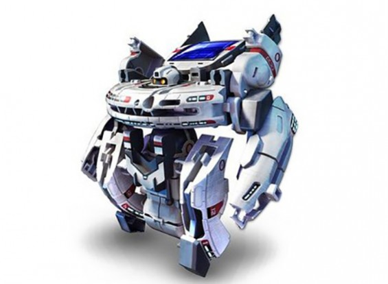 7 in 1 Solar Rechargeable Robot (Space Fleet)