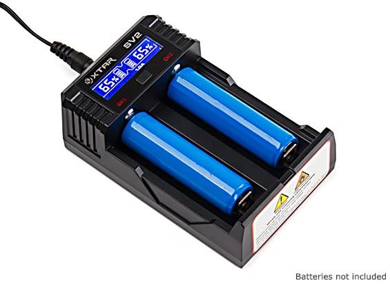 XTAR SV2 Rocket Li-ion/Ni-Mh Fast-Changing Charger w/LCD Sreen (EU Plug)