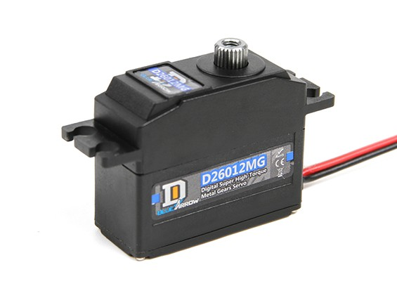 D26012MG High Torque Digital MG Servo 25T 5kg / 0.11sec / 29.7g