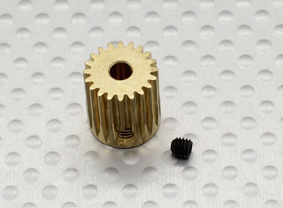 Pinion Gear 3.17mm/0.5M 20T (1pc)