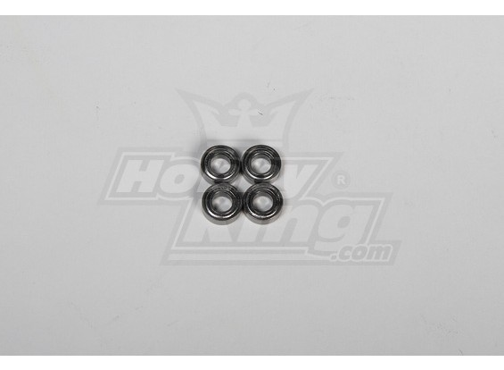 Main Blade Holder Bearing 6x12x4mm for 500 Size Heli (4pcs/set)