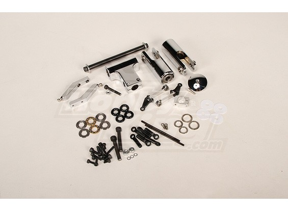 RJX Flybarless Head Assembly Trex 700 / .90 Size