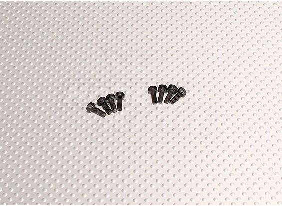 CNC Servo Bolt M3.0x8 Black