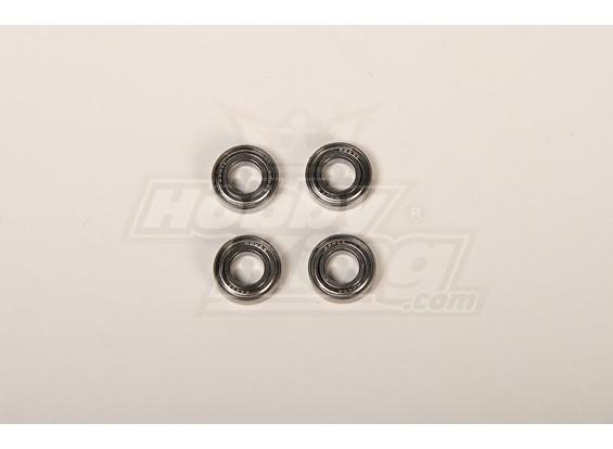 X90/700 Main blade Holder Bearing 8x16x5 (4pcs/bag)