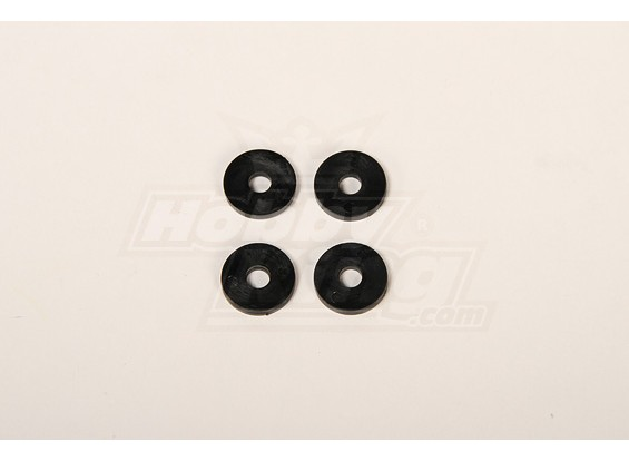 Main blades Plastic washer for 50 helis 4x20x2mm (4 pcs)