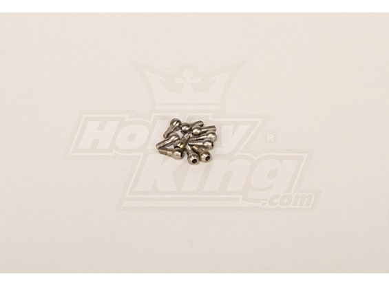 M3 Steel Linkage Ball for all helis (10pcs)