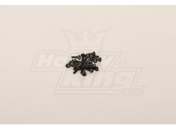 Screw Socket Head Hex M2x6 (20pcs)