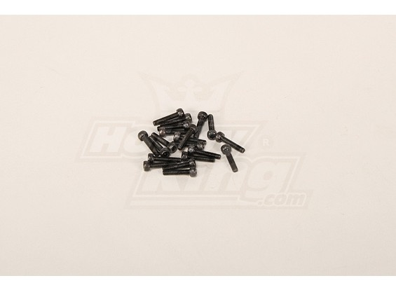 Screw Socket Head Hex M3x14 (20pcs)