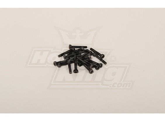 Screw Socket Head Hex M3x20 (20pcs)