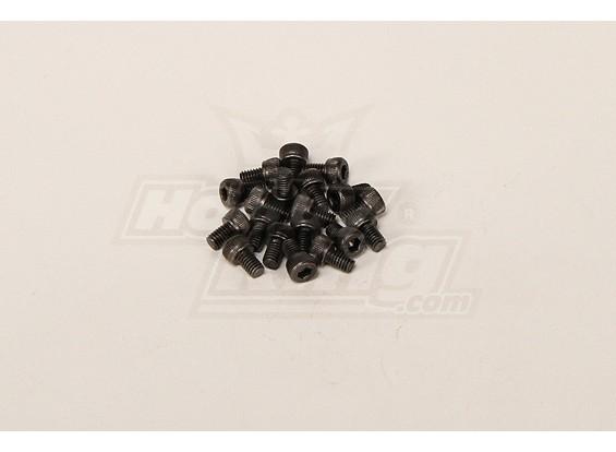 Screw Socket Head Hex M4x6mm (20pcs)