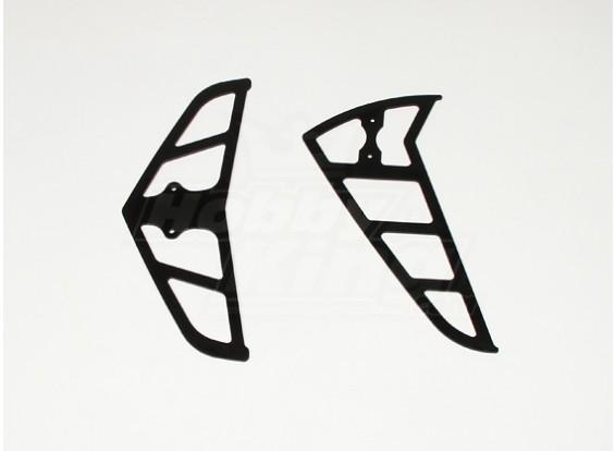 Black FRP Fins for Raptor 30/50 (2mm)