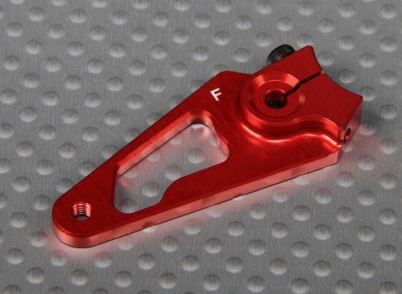 CNC Heavy Duty 1.25in Aluminium Servo Arm - Futaba (Red)