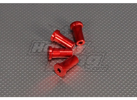 CNC Standoff 30 mm (M5) Red