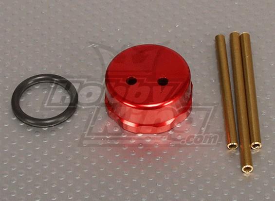 CNC Fuel Tank Cap Red