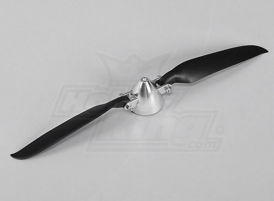 Folding Propeller W/Alloy Hub 40mm/3mm Shaft 10x6 (1pc)
