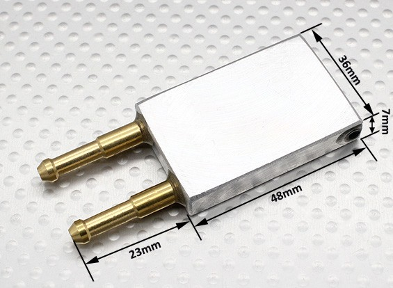 Water Cooling Plate For 50A ESC -Sea Fire & Surge Crucher