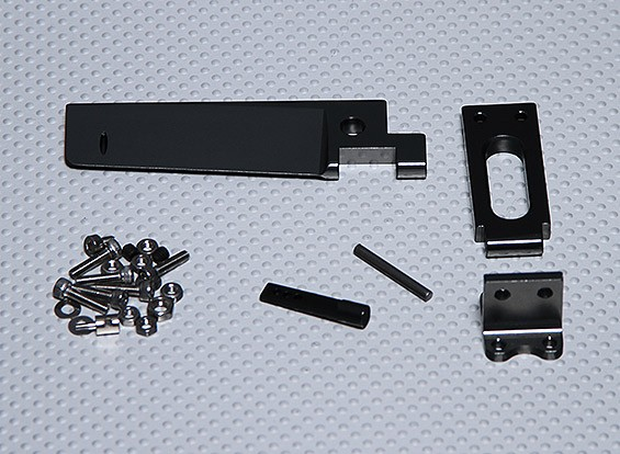 96mm Rudder And Support Set - Sea Fire / Surge Crusher / Super Version Surge Crusher