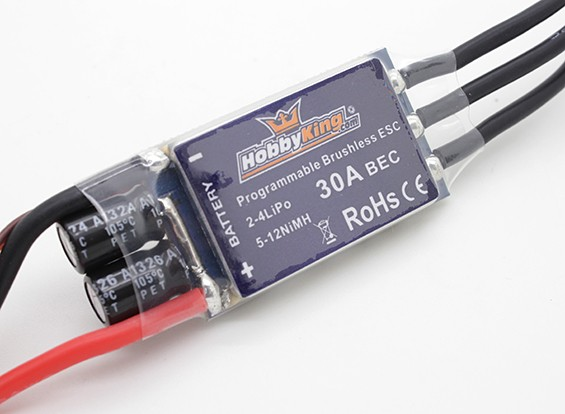 HobbyKing 30A BlueSeries Brushless Speed Controller