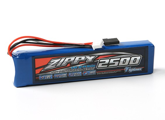 ZIPPY Flightmax 2500mAh 6.6V 5C LiFePo4 Receiver Pack
