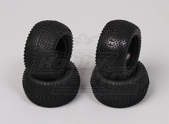 Mini-Pin Racing Tyre (4 pcs) - 118B, A2006