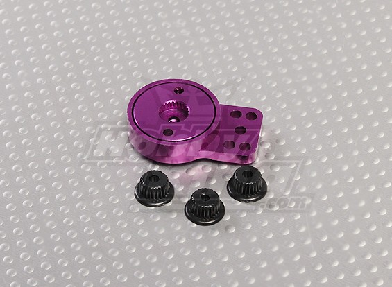 Purple Aluminum Heavy Duty Servo Saver
