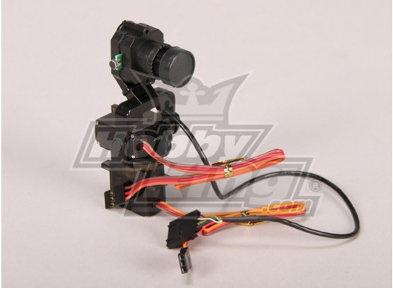 FatShark Pan/Tilt CAM system, pre-assembled