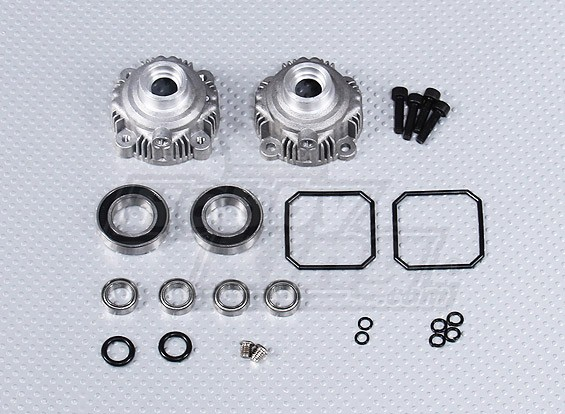 Alloy Diff Gear Shell Set - 260 and 260S