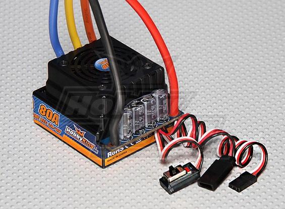 HobbyKing® ™ 80A Sensored/Sensorless Car ESC (1:8/1:5)