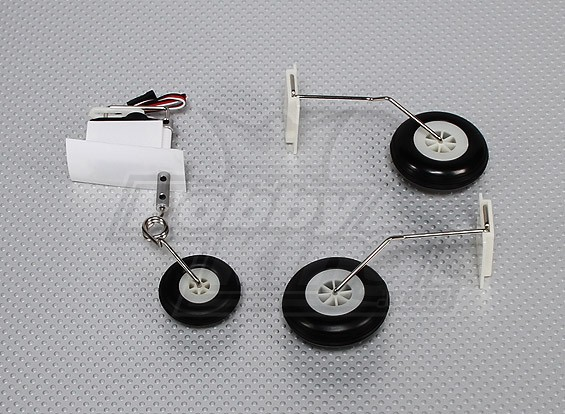 Stinger 64 EDF Optional Landing Gear Set (With Servo)